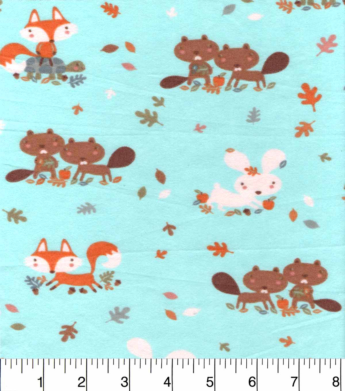 Snuggle Flannel Fabric 42\u0022-Sweet Friends