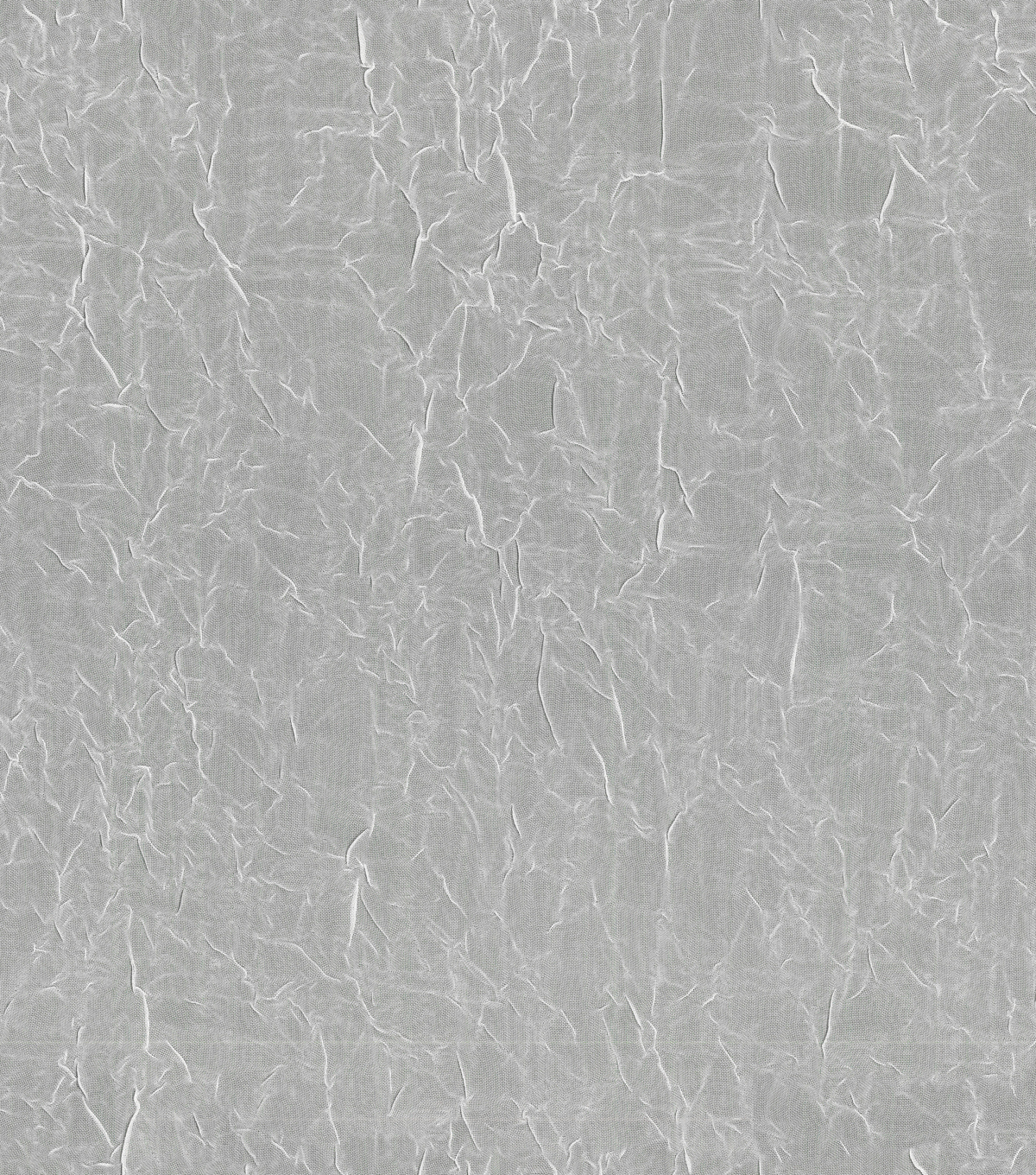 Signature Series Sheer Crushed Voile Fabric 106\u0022-White