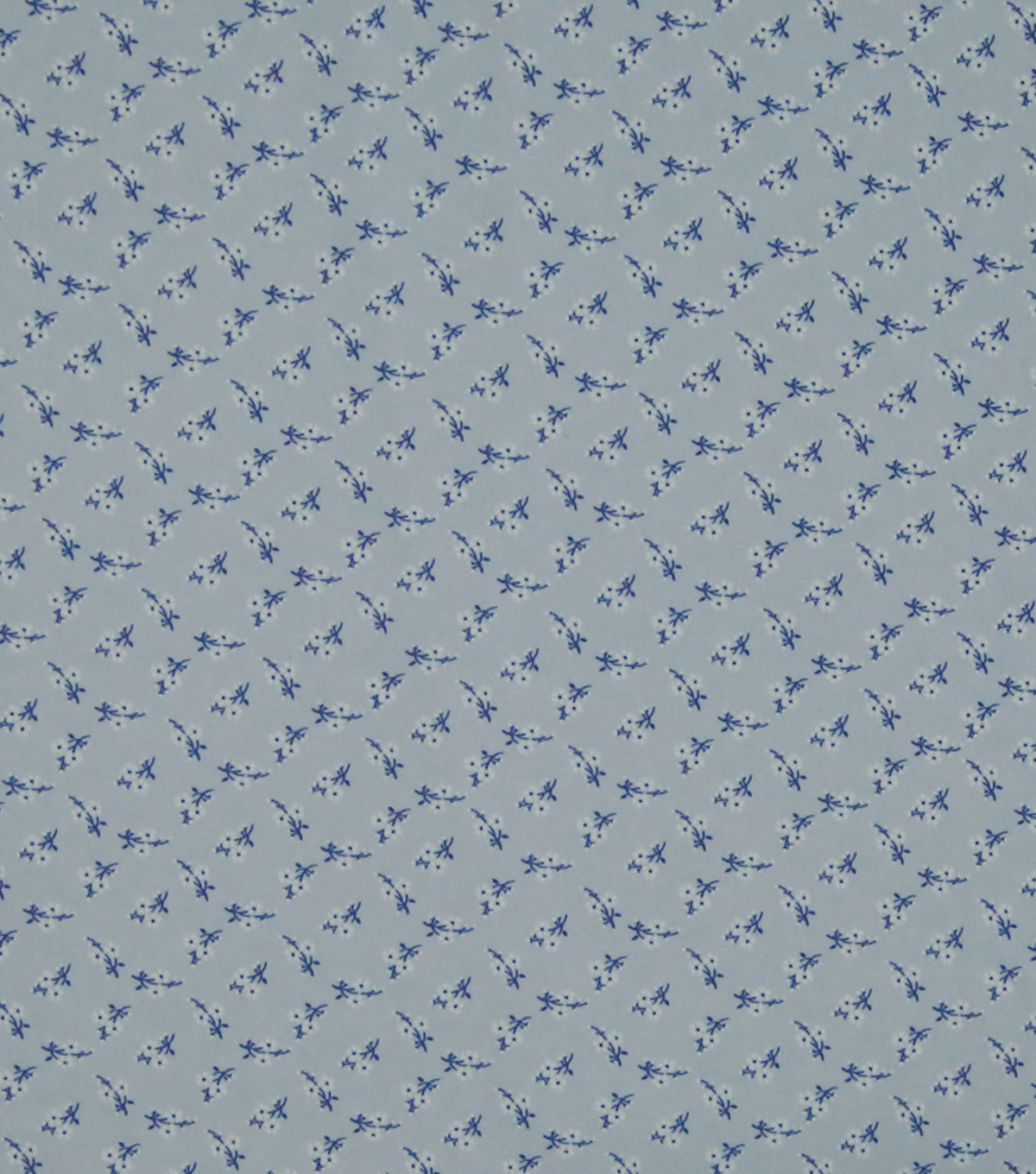 Silky Stretch Crepe Fabric 57\u0022-Light Purple Ditsy Floral