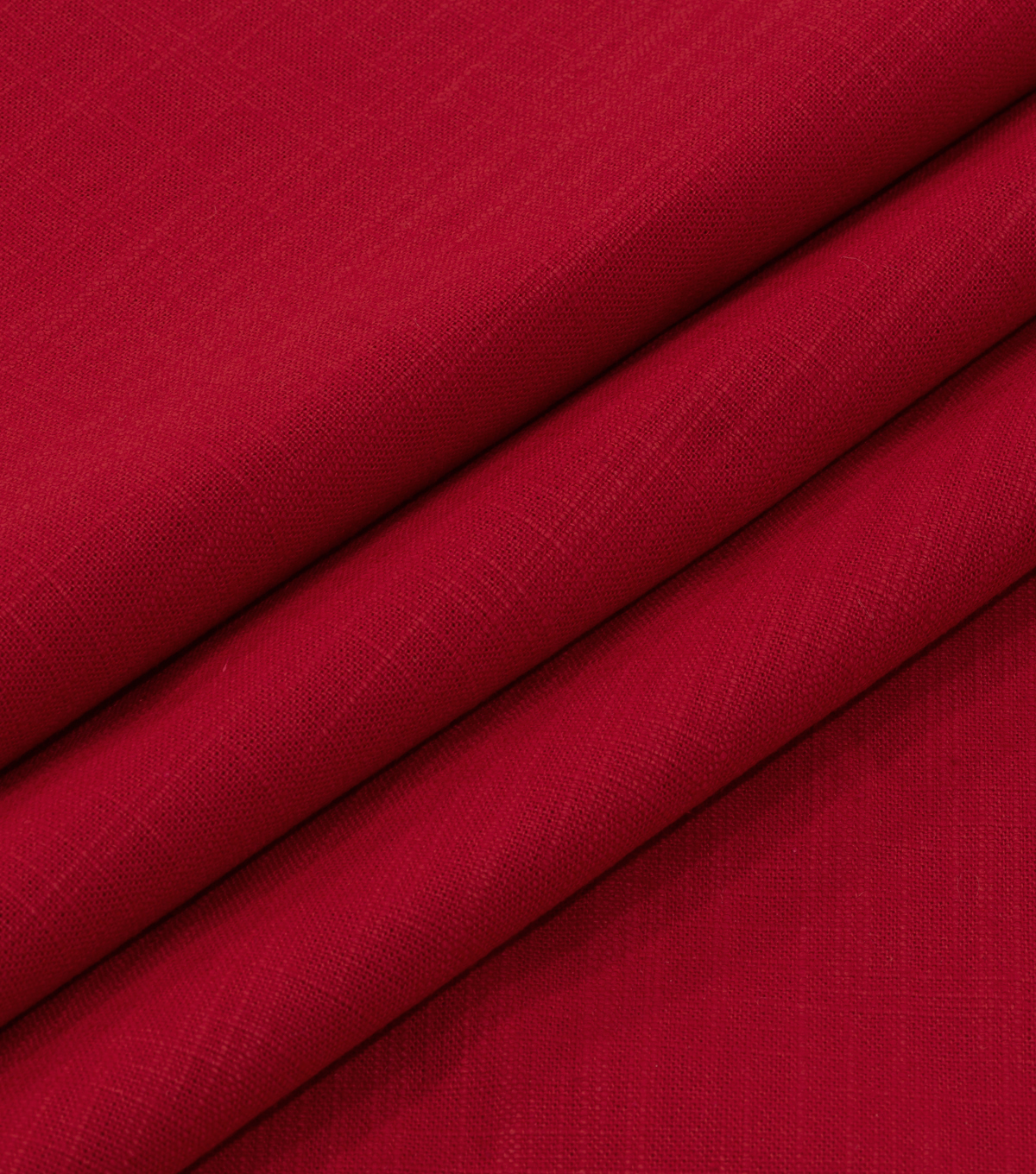 Robert Allen @ Home Lightweight Decor Fabric 54\u0022-Slubbed Weave Red Lacquer