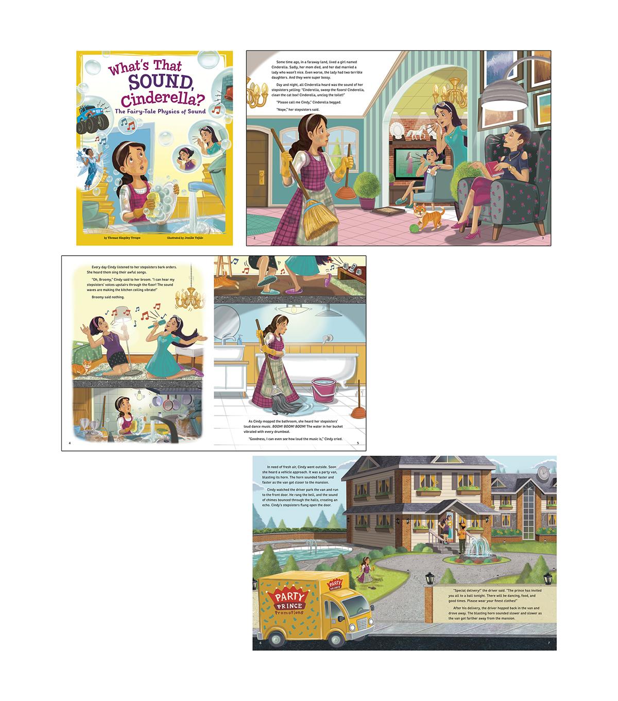 STEM-Twisted Fairy Tales, Set of 4 books