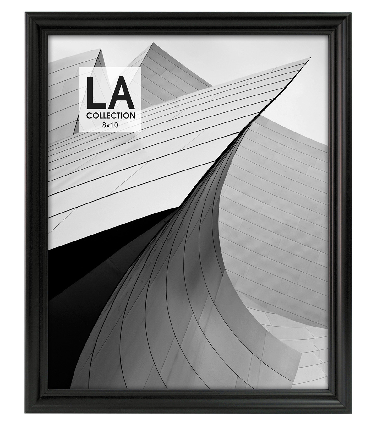 LA Collection Traditional Frame 8x10-Black