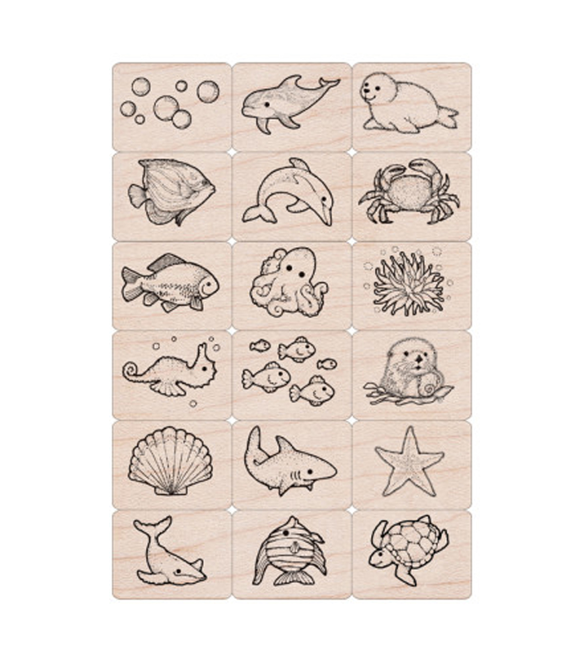 Hero Arts Ink \u0027n\u0027 Stamp Sea Life