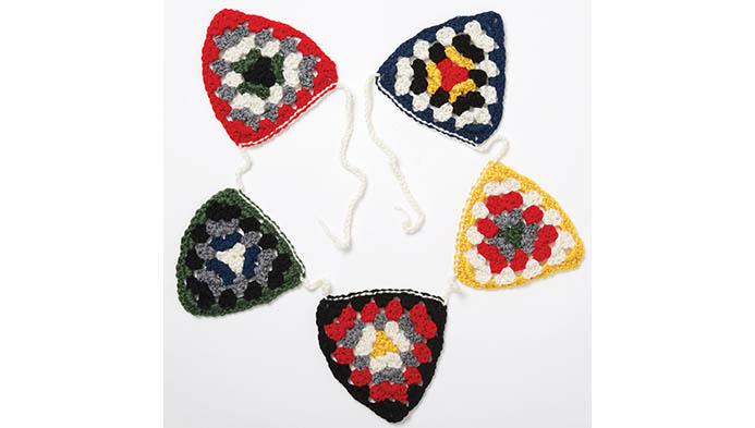 Crochet Granny Triangles