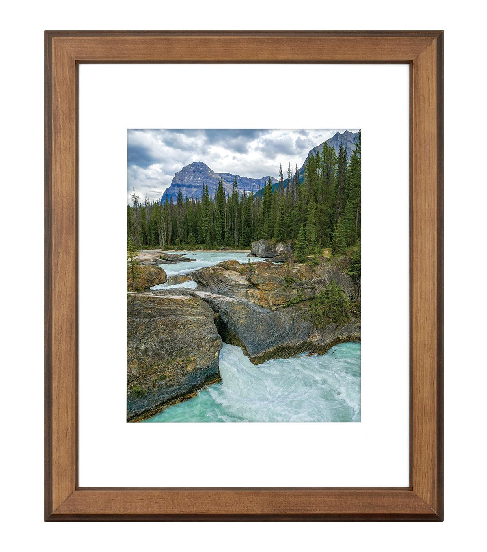 11X14 To 8X10 Walden Woods Warm Walnt Wall Frame | JOANN