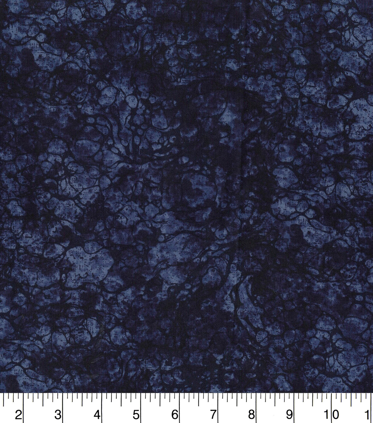 Premium Wide Cotton Fabric 108\u0022-Water Drops Midnight
