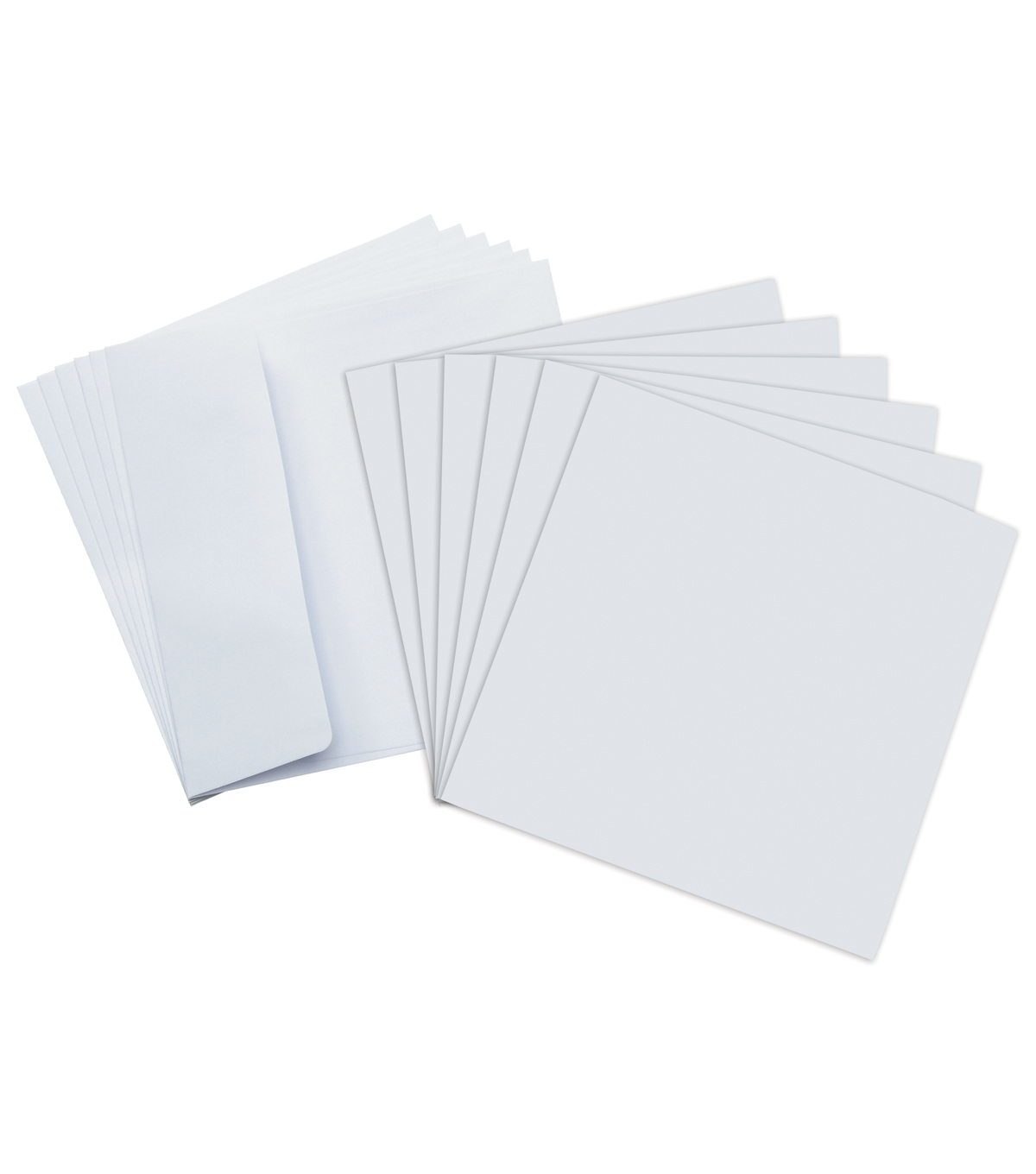 Core\u0027dinations Card/Envelopes:  5.5x5.5 White; 50 pack