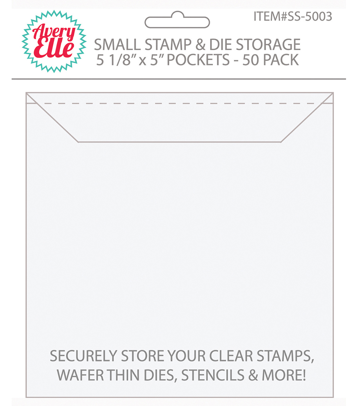 Avery Elle Stamp & Die Small Storage Pockets 50 Pack