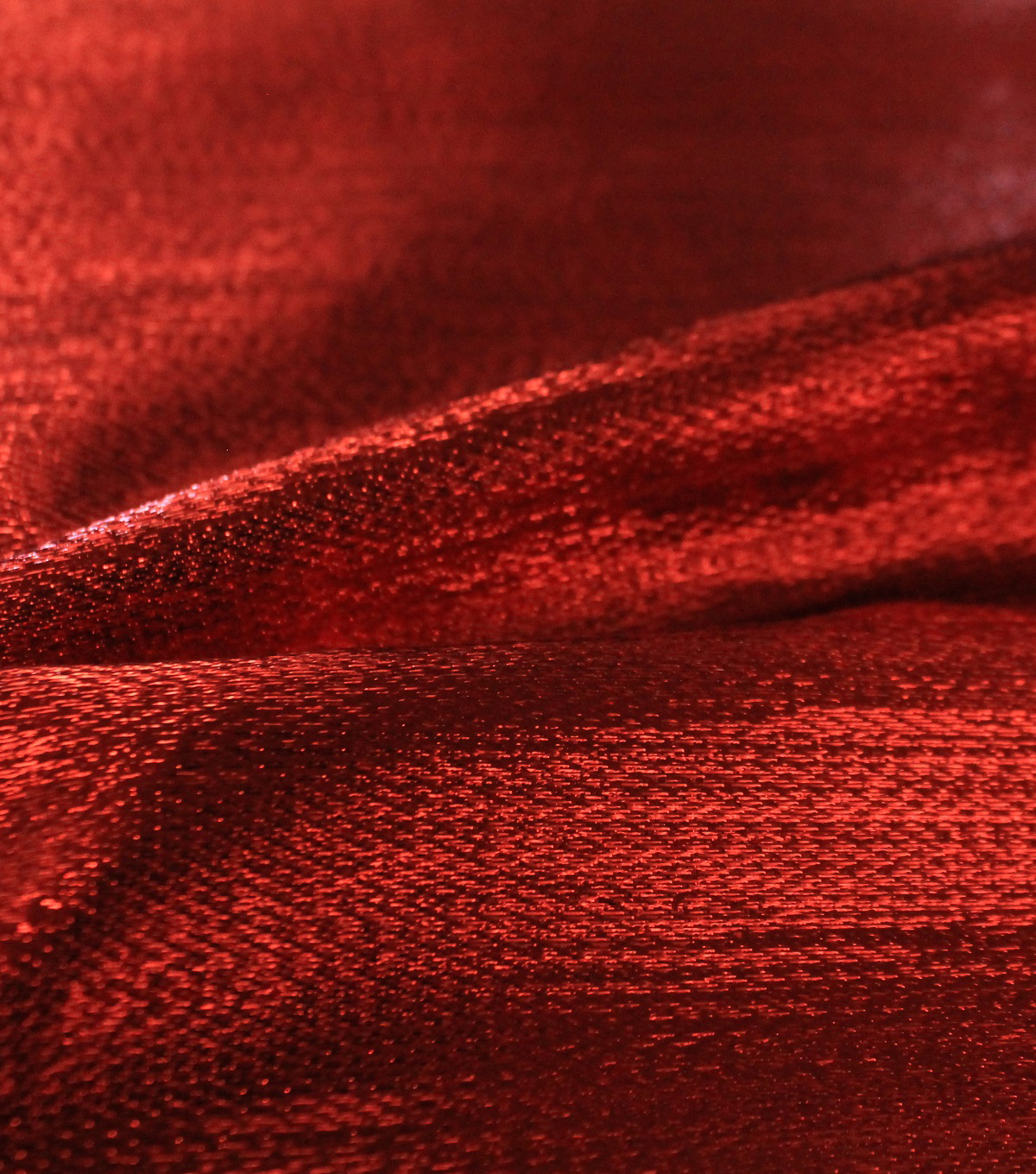 Metallic Apparel Lame Fabric 44\u0027\u0027-Shiny Red
