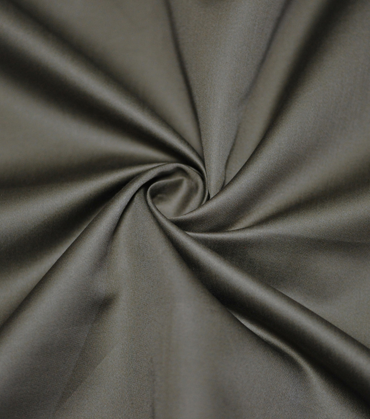 Supima Sateen Cotton Fabric-Solids, Dark Brown