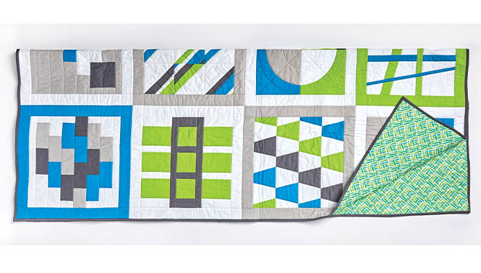 2019 Quilt Block Along Finished Quilt