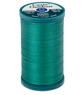 Coats & Clark Outdoor 200yd Thread, Coats Outdoor 200yd Mng Teal