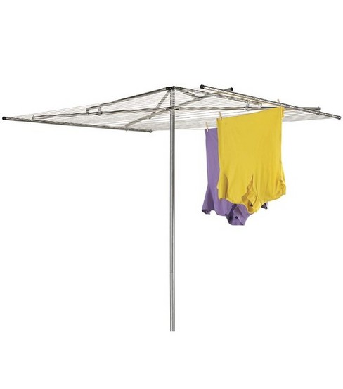 Household Essentials Parallel Outdoor Steel Dryer 182\u0027 Drying Space