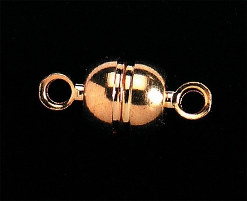 Darice Jewelry Designer Magnetic Clasps-Gold