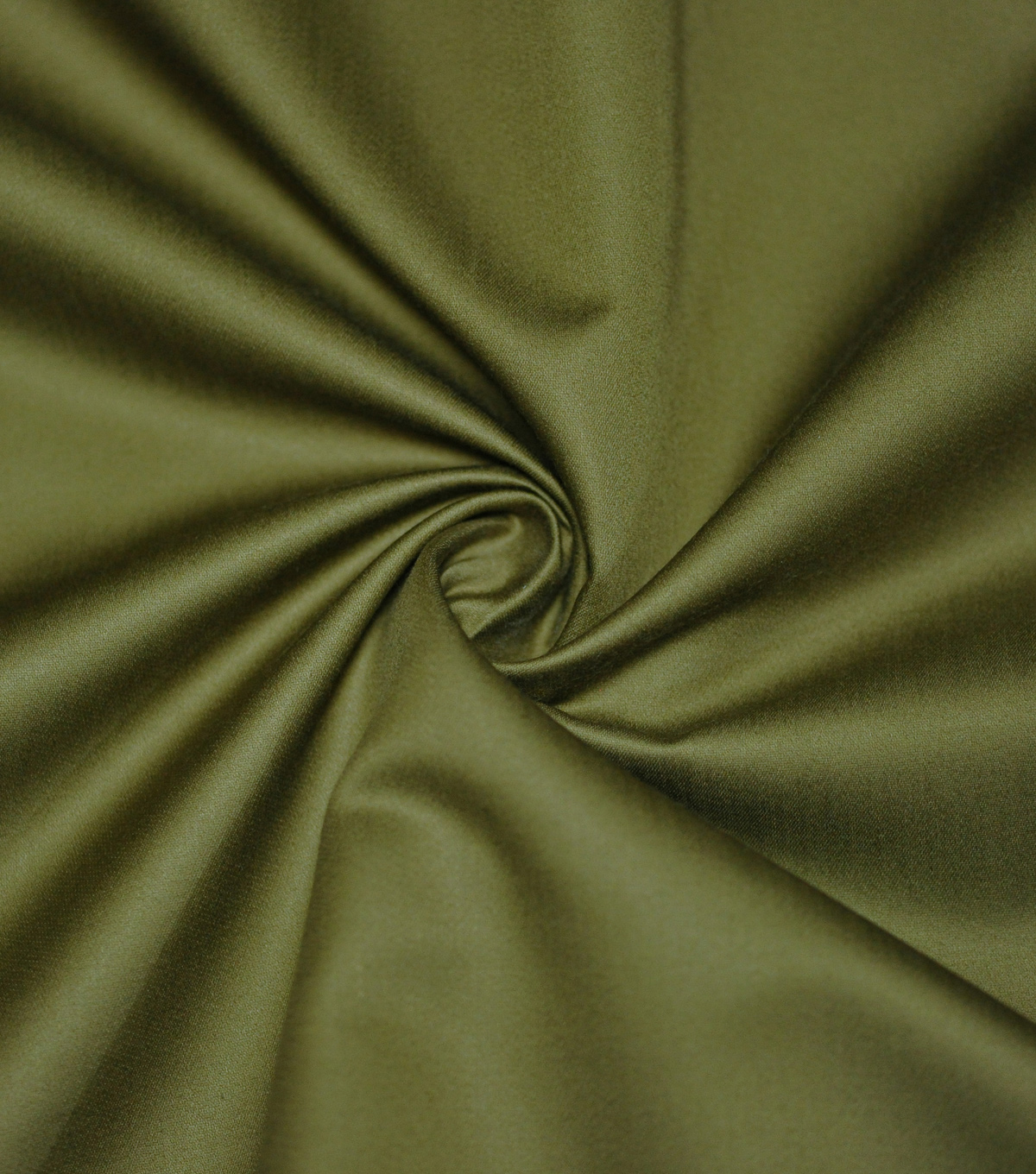 Supima Sateen Cotton Fabric-Solids, Moss Brown
