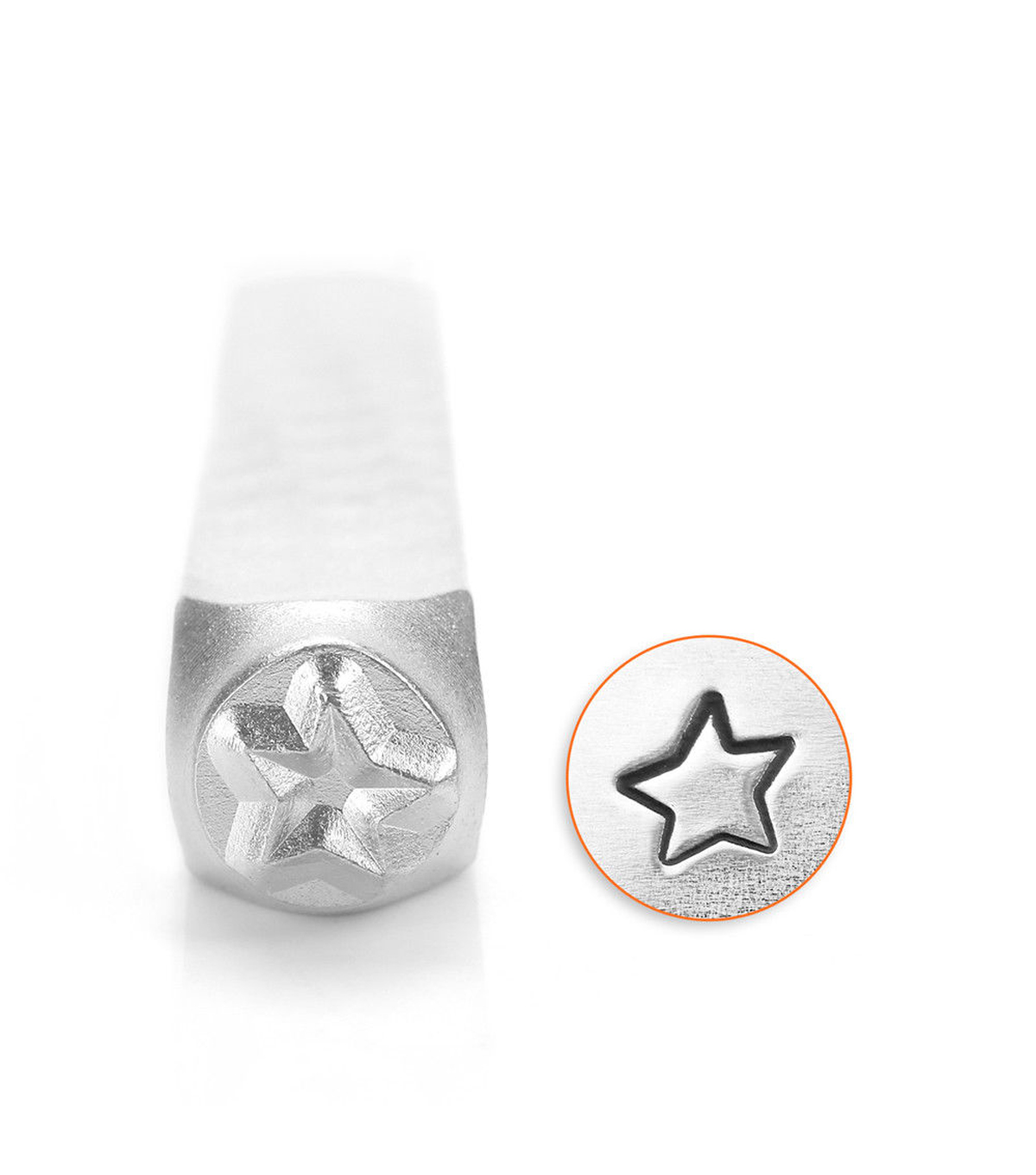ImpressArt 6mm Stamp Fun Star Large