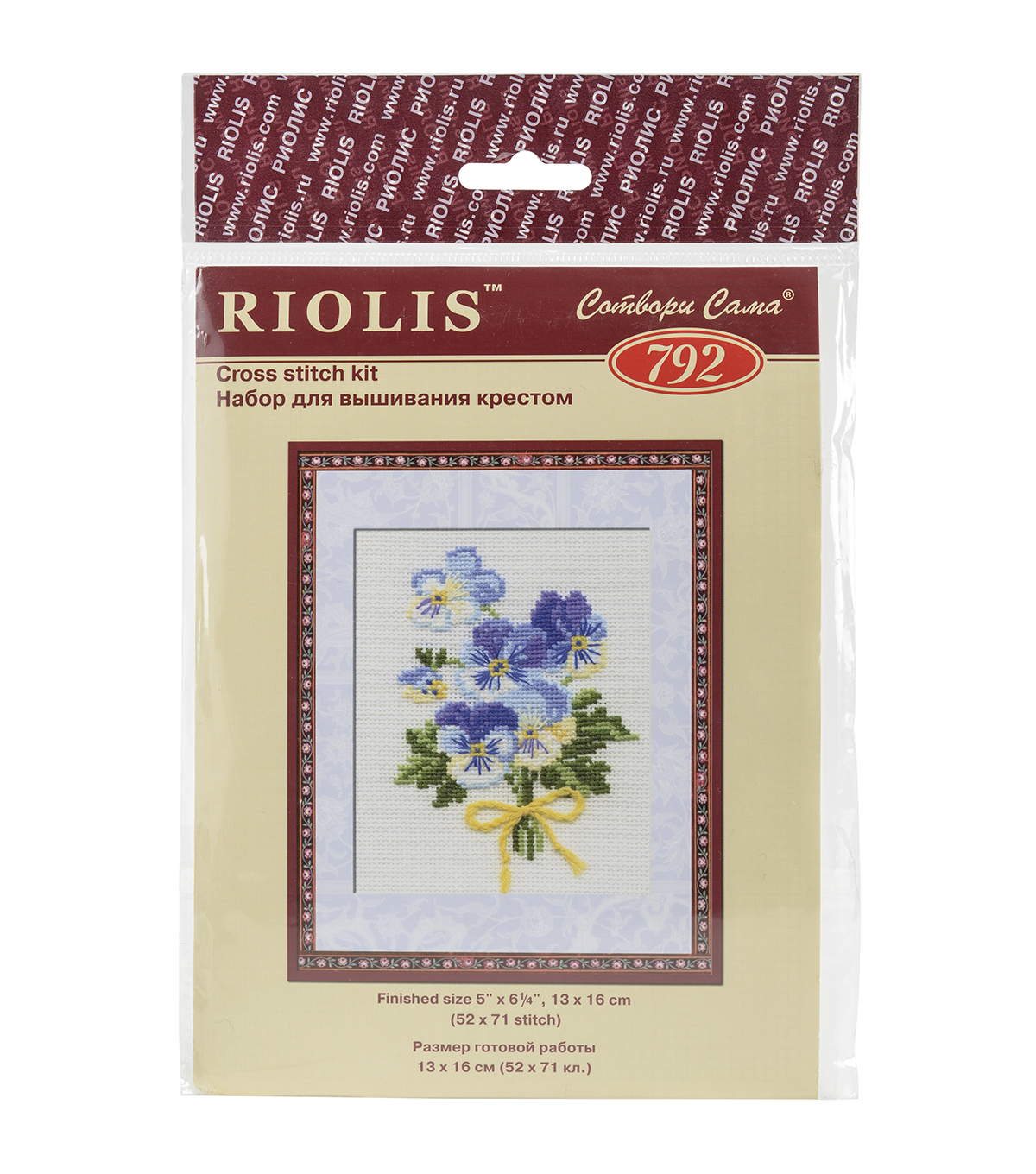 Riolis Violas Counted Cross Stitch Kit