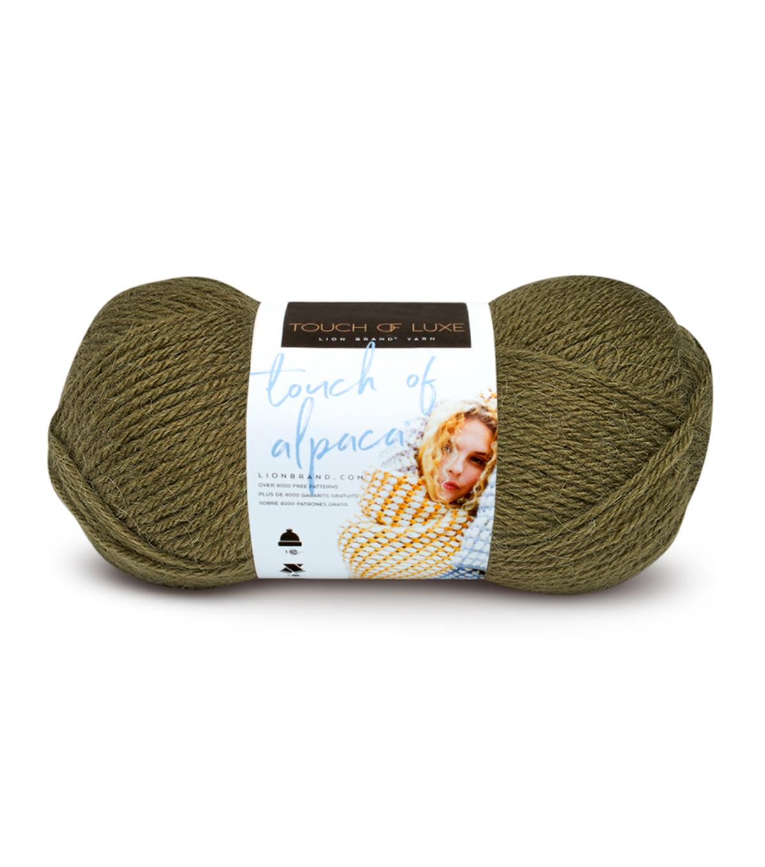 Lion Brand Touch of Alpaca Yarn | JOANN