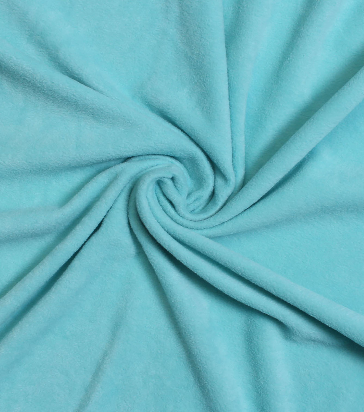 Fleece No Sew Throw Kit-Blue Shells
