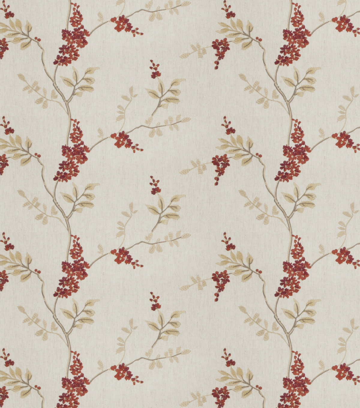 Eaton Square Lightweight Decor Fabric 51\u0022-Rosehips/Garnet