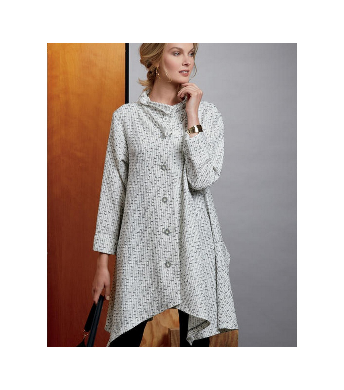Vogue Pattern V9352 Misses\u0027 Coat-Size L-XL-XXL