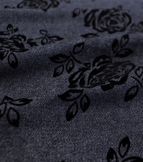 Sportswear Denim Fabric -Rose