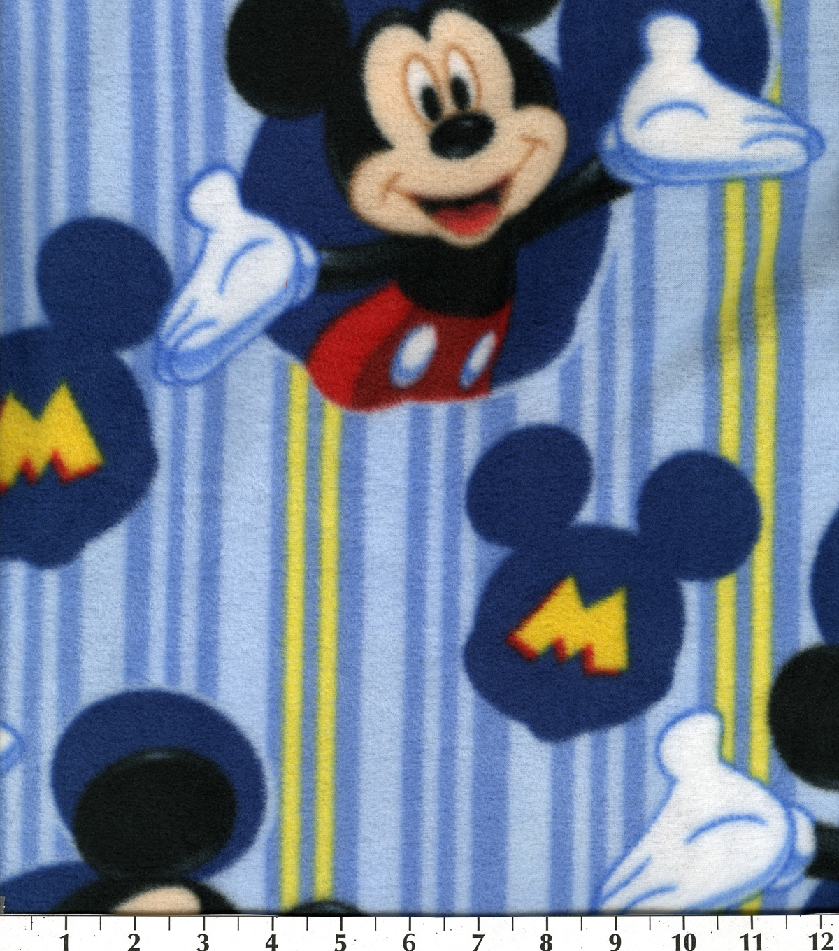 Disney Mickey Mouse Fleece Fabric 60\u0022-Framed