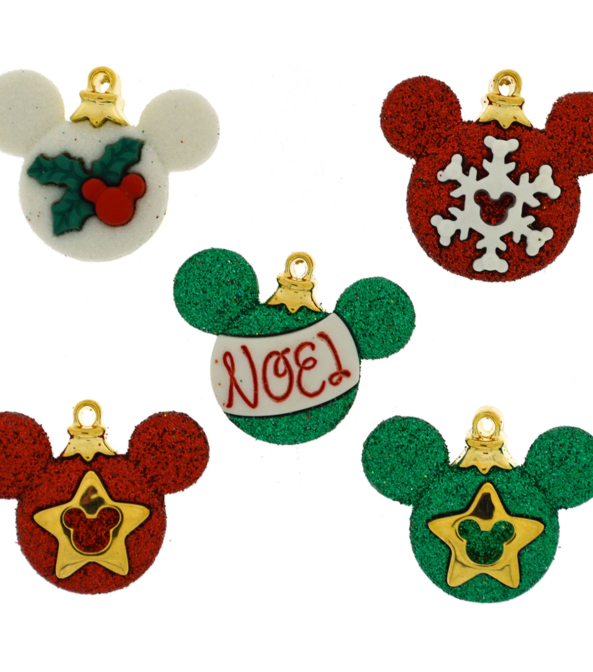 Jesse James Dress It Up Disney Mickey Ornaments Licensed Buttons