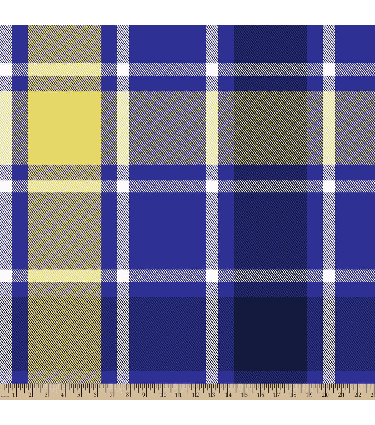 Blizzard Fleece Fabric -Bruno Plaid Purple