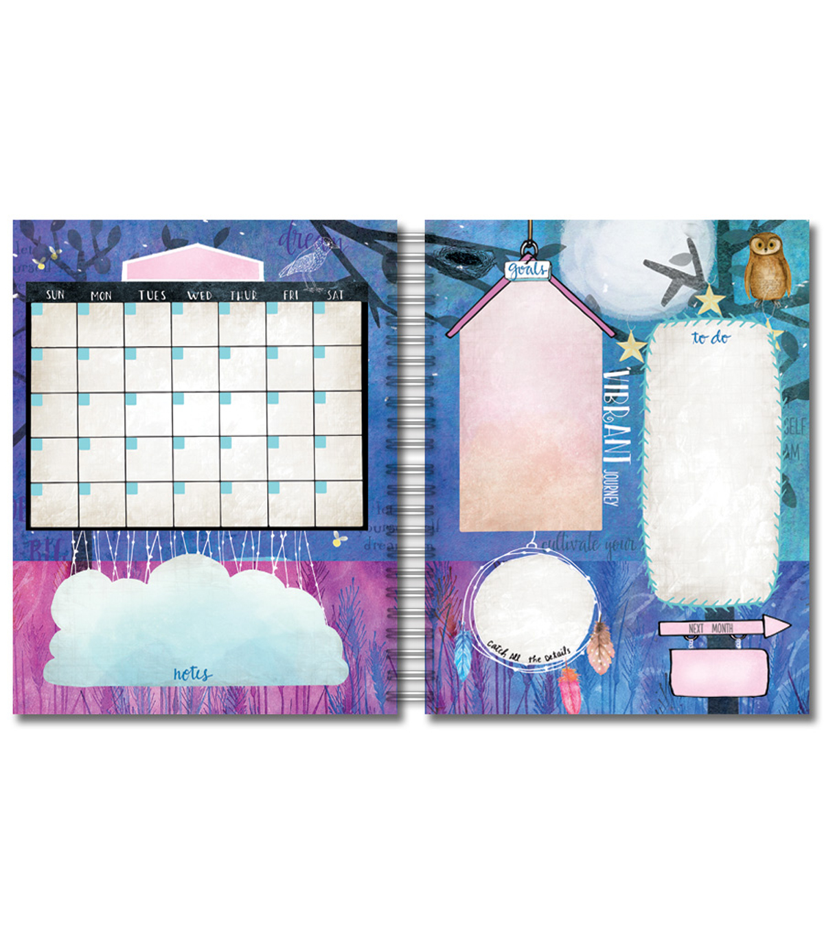 Creative Planner-Dream Catcher