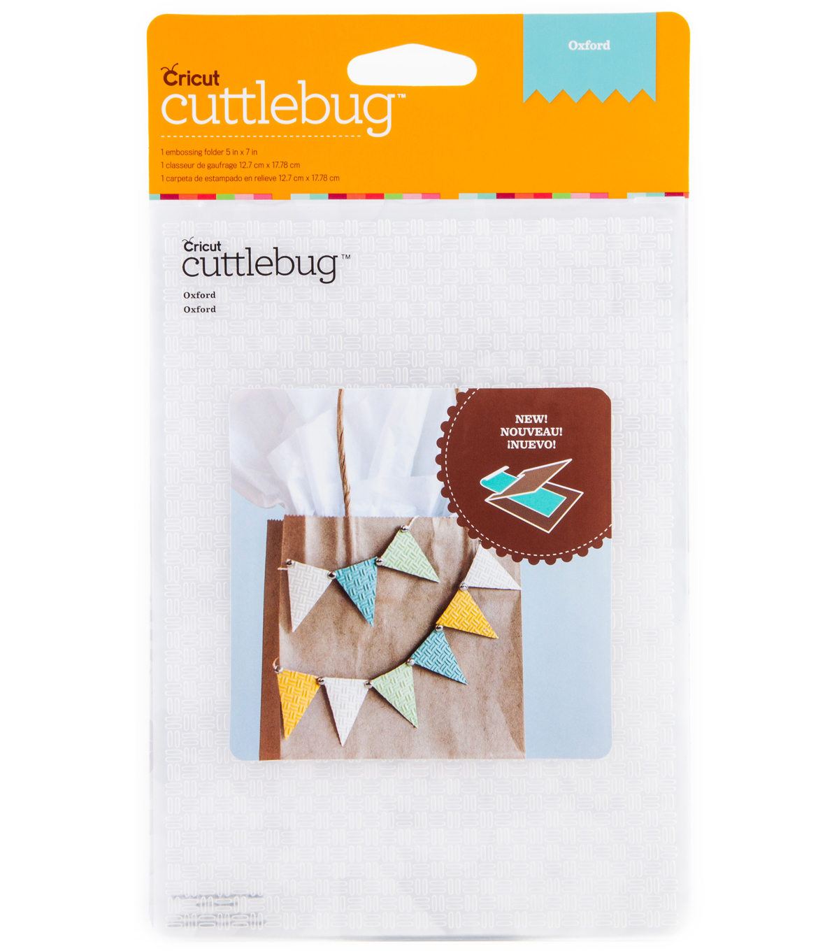 Cuttlebug Emboss 5x7 Oxford
