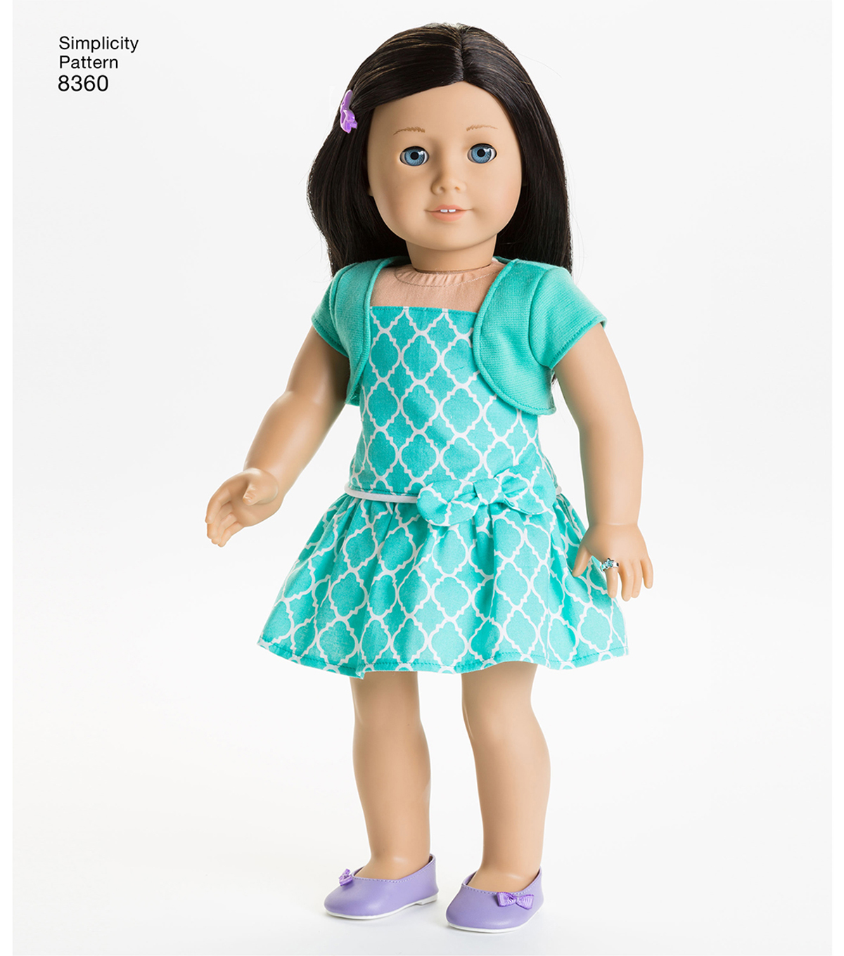 Simplicity Pattern 8360 18 Doll American Girl Clothes Joann