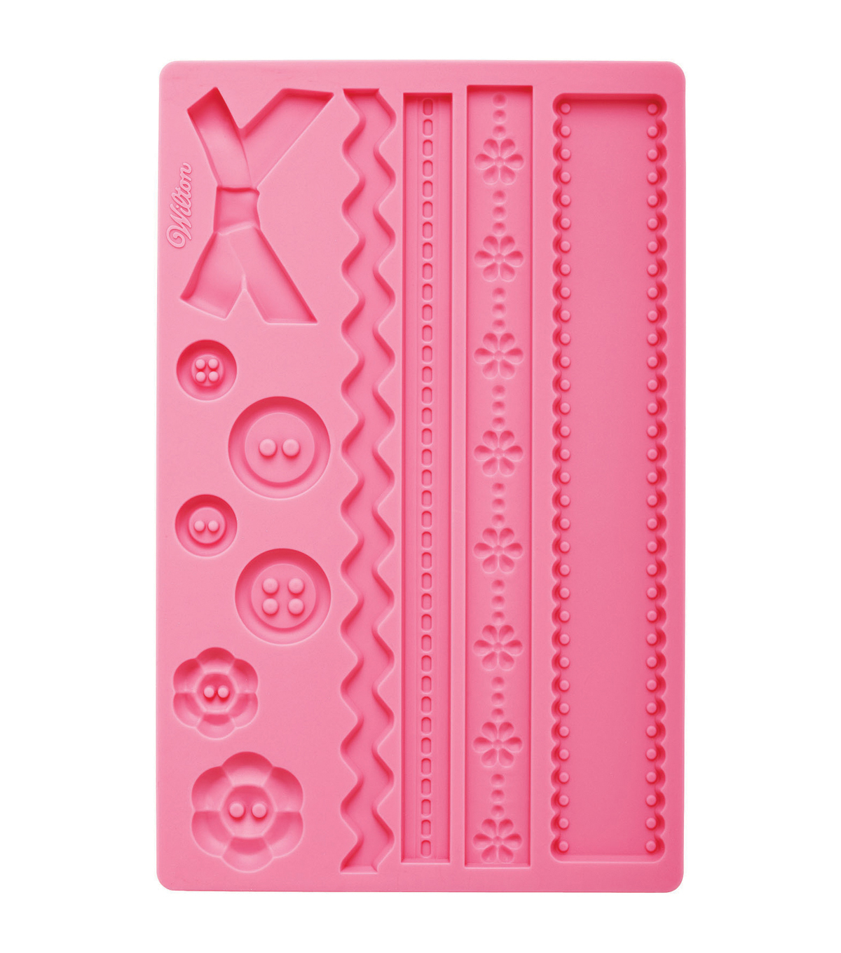 Wilton Fondant And Gum Paste Silicone Mold Fabric