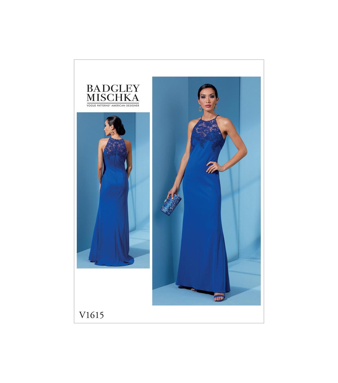 469865bcf Vogue Pattern V1615 Misses' & Misses' Petite Dress-Size 14-16-18-20 ...