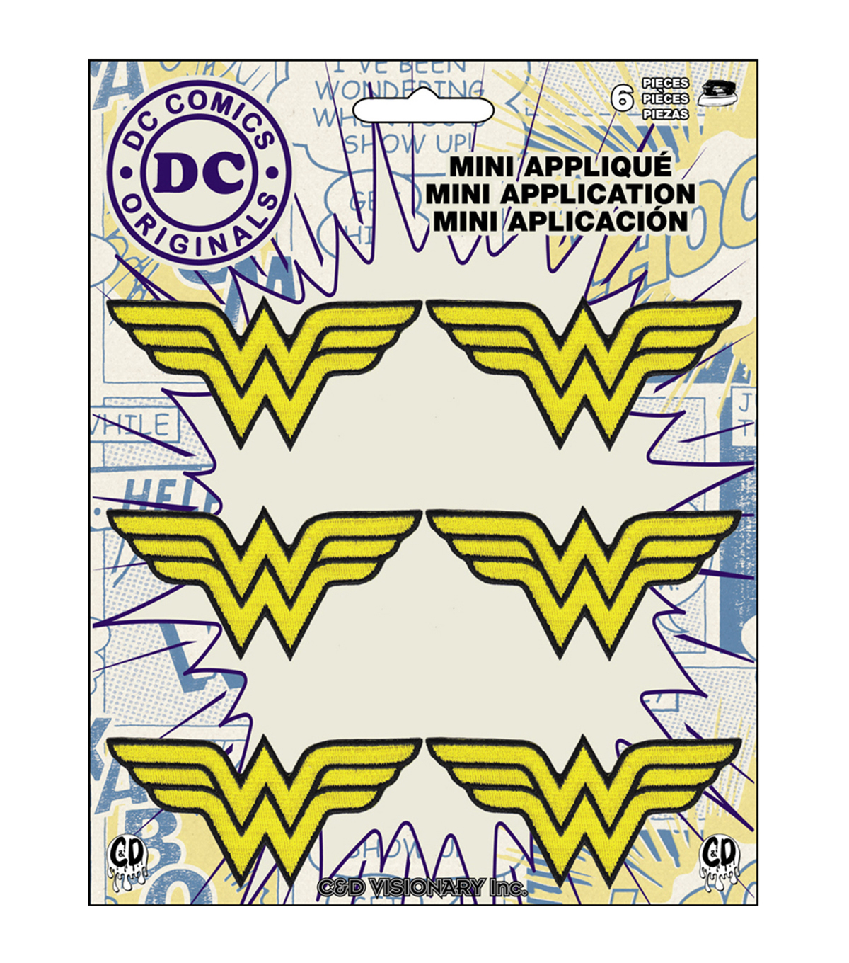DC Comics Patch-Wonder Woman Insignia