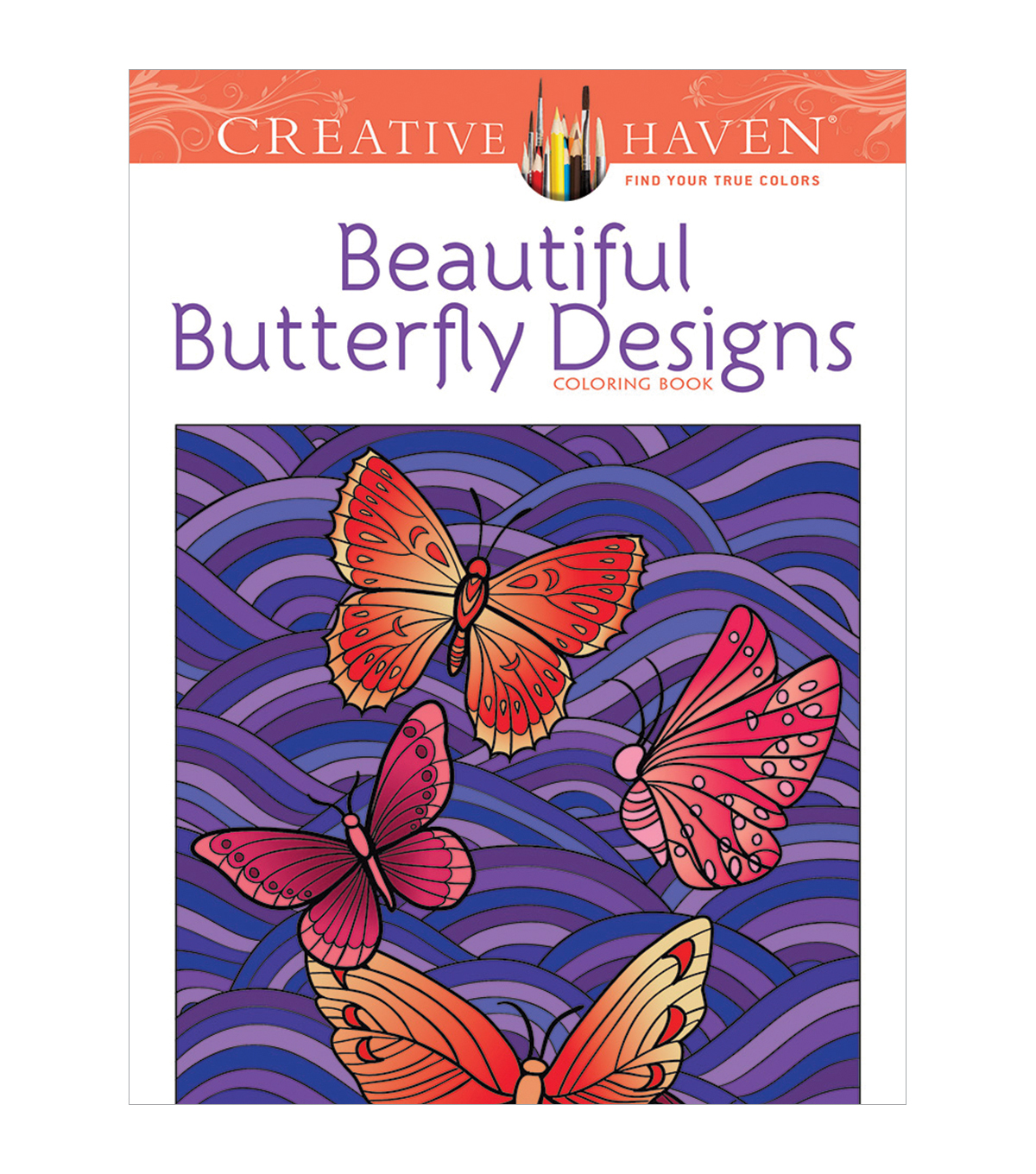 Dover Creative Haven Beautiful Butterfly Coloring Book
