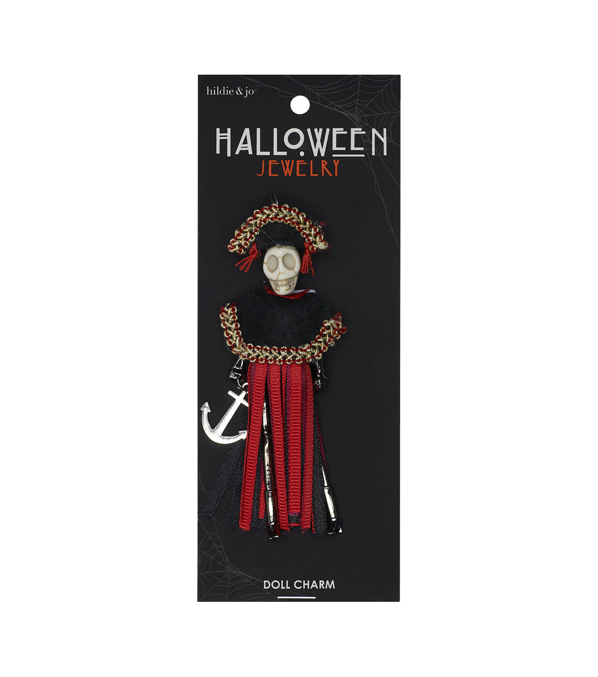 hildie & jo Halloween Doll Pendant-Day Of The Dead Shipmate Juana