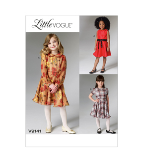 Vogue Patterns Child Dress-V9141
