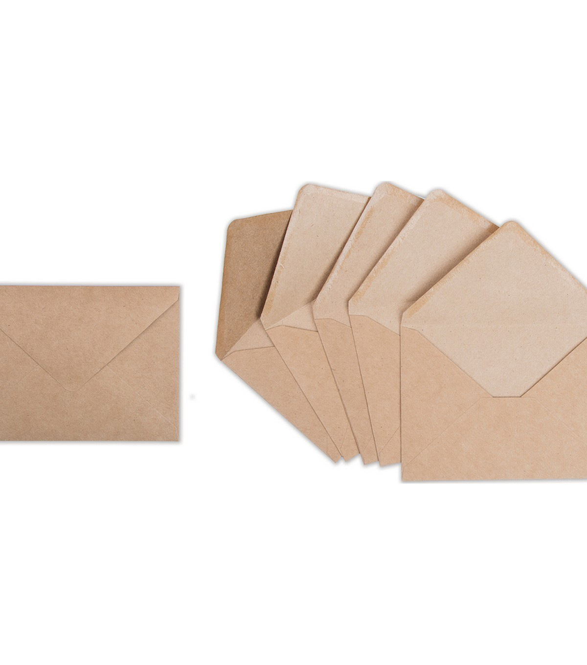 Sizzix Paper Envelopes A7 6/Pkg-Kraft