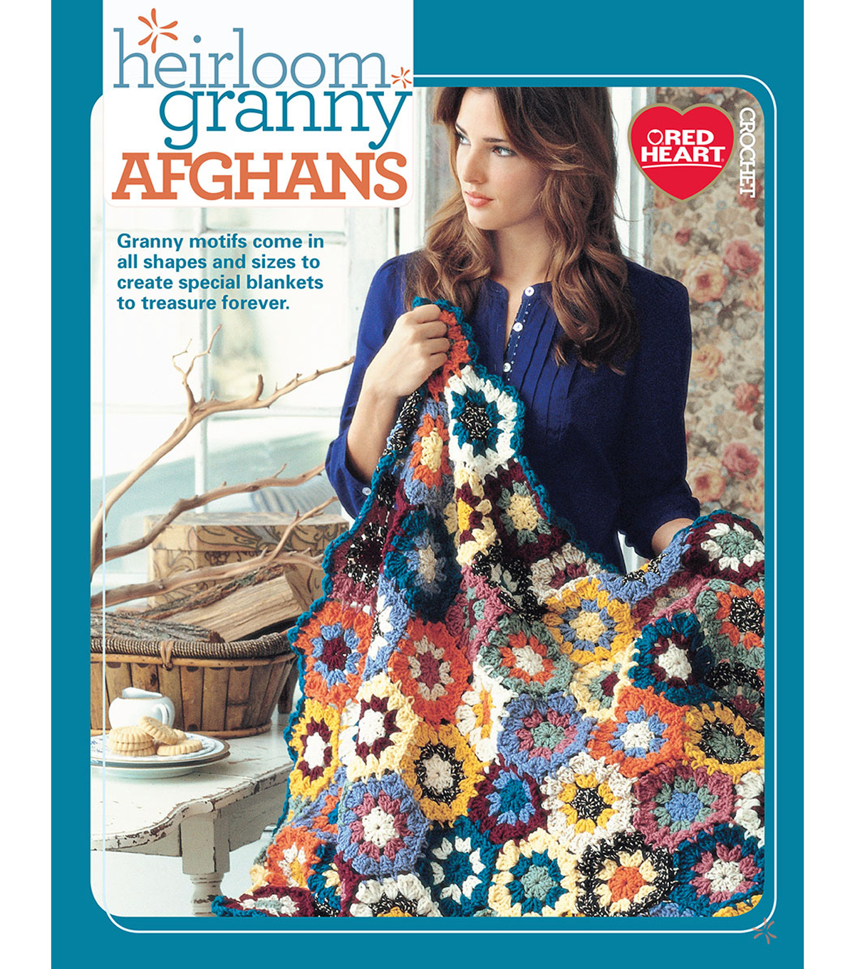 Heirloom Granny Afghans Book