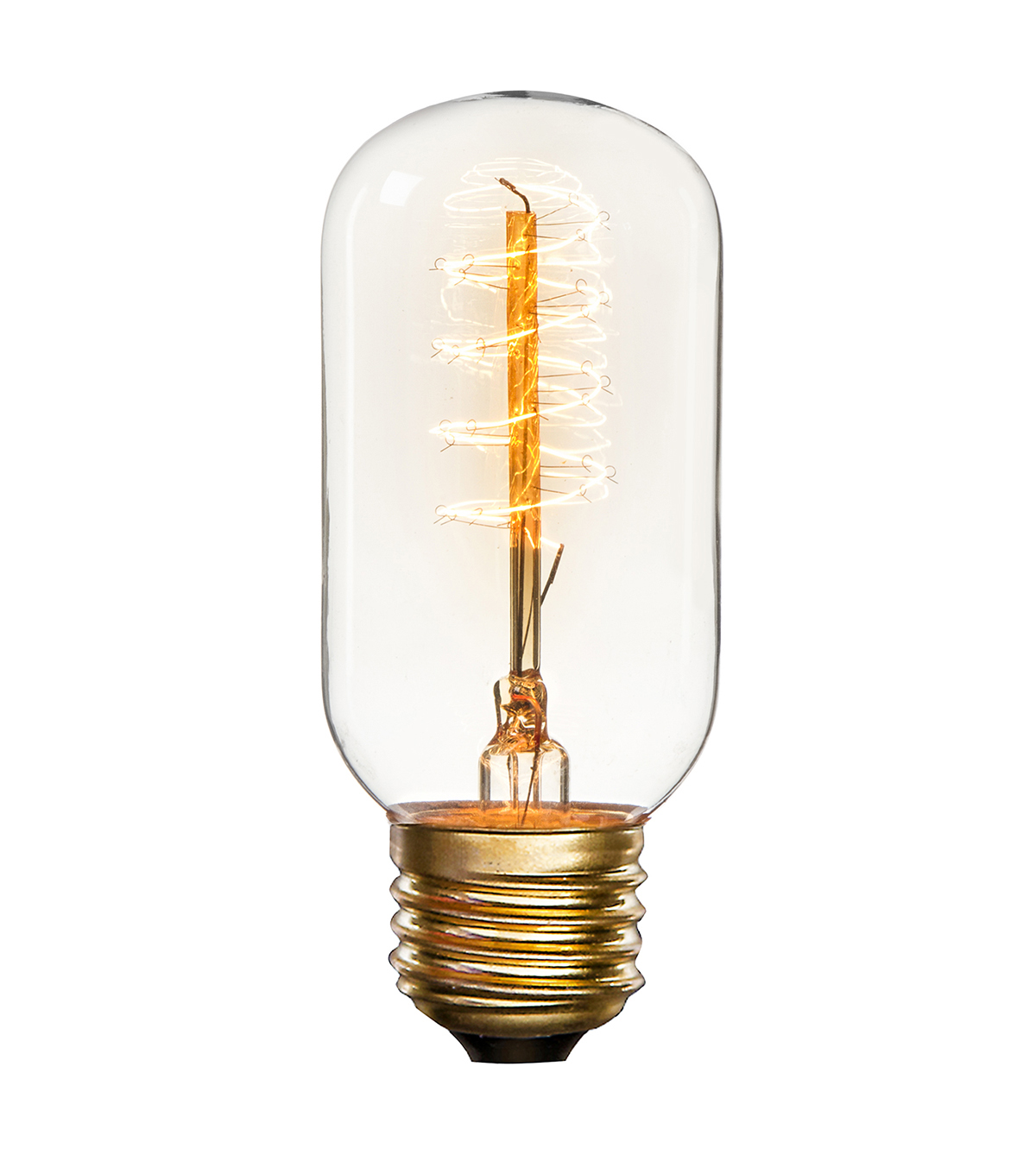 Hudson 43 Edison Bulb Oblong with Swirl Filament