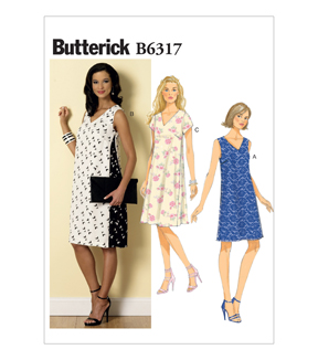 Butterick Misses Dress-B6317