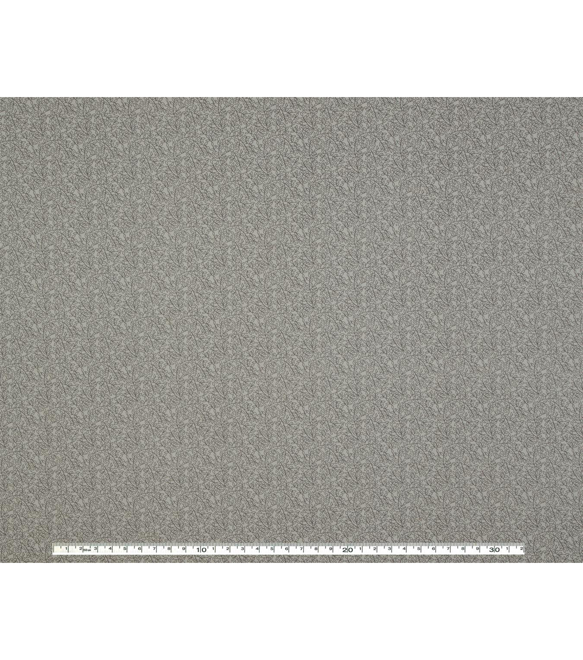 Wide Quilt Cotton Backing Fabric 108\u0022-Gray Vine