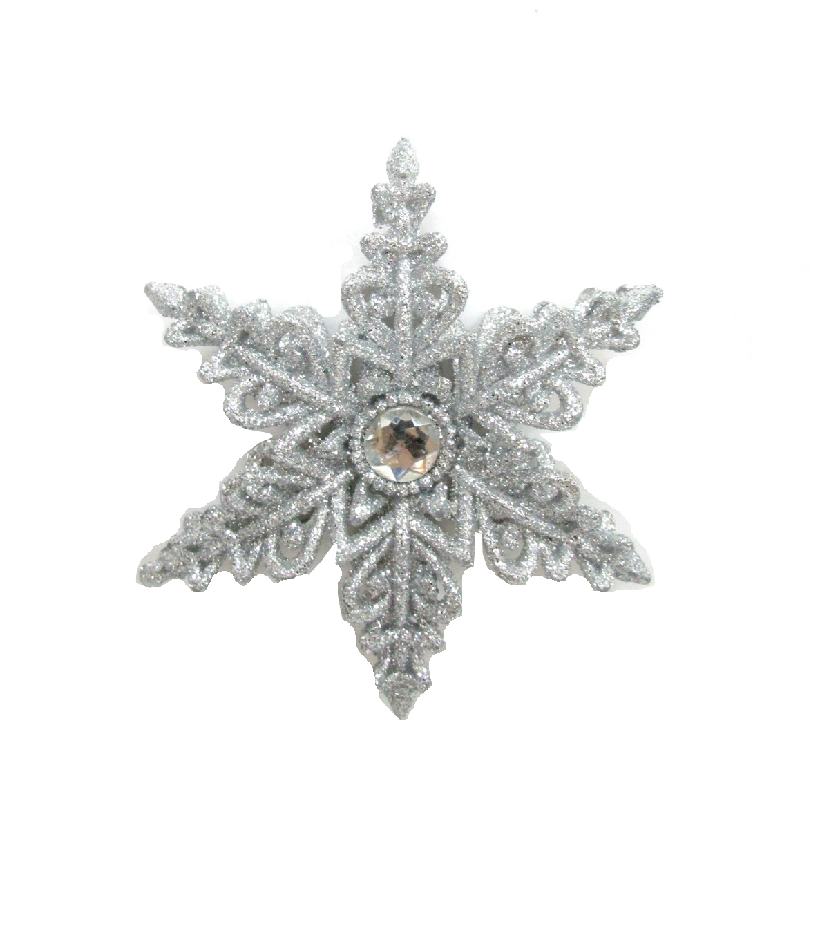 Maker\u0027s Holiday Christmas Glistening Pines Snowflake Ornament