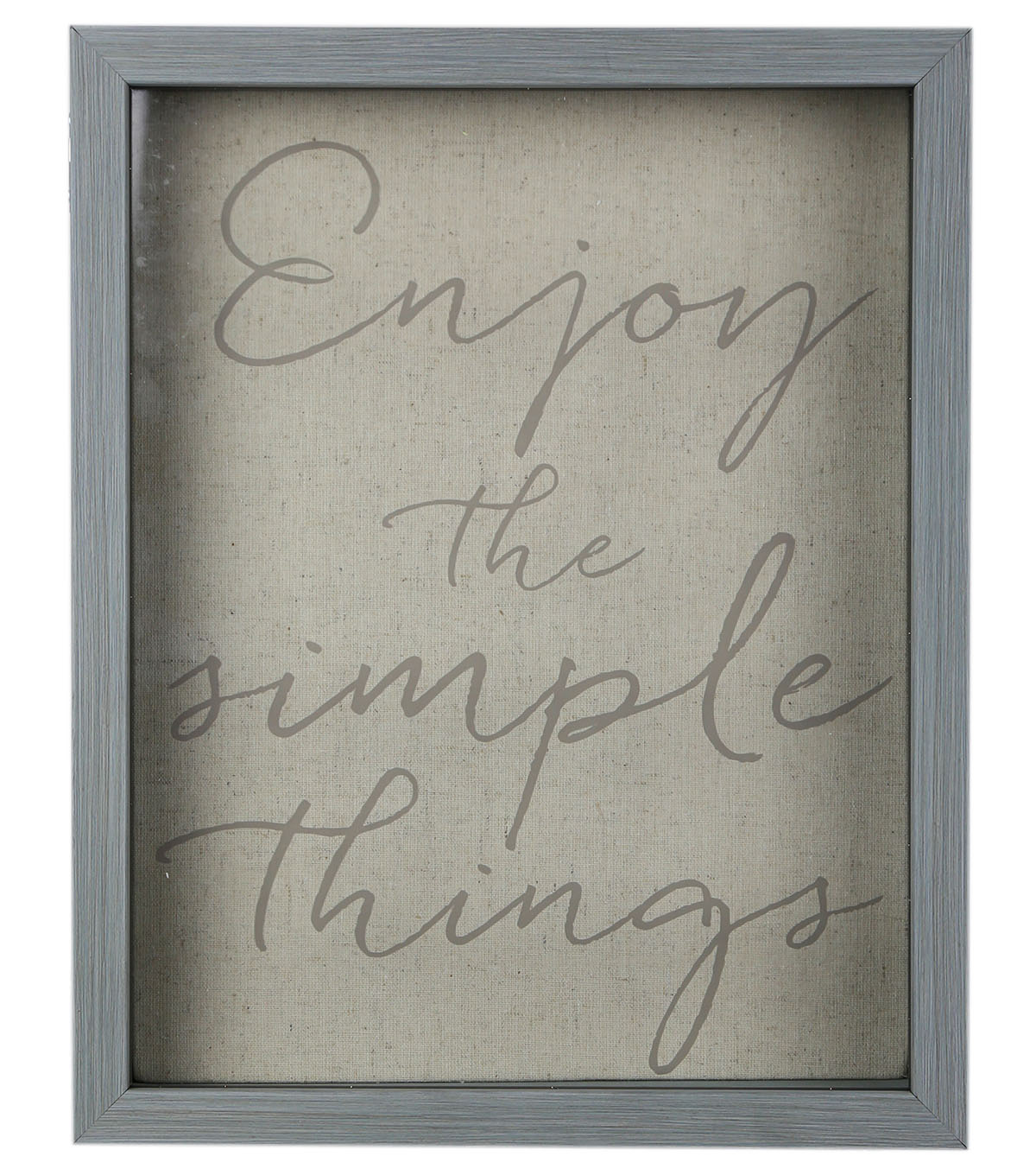 Shadowbox 11\u0027\u0027x14\u0027\u0027-Enjoy The Simple Things
