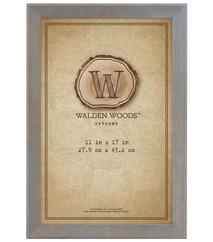 11x17 Walden Woods Gray Wall Frame Joann
