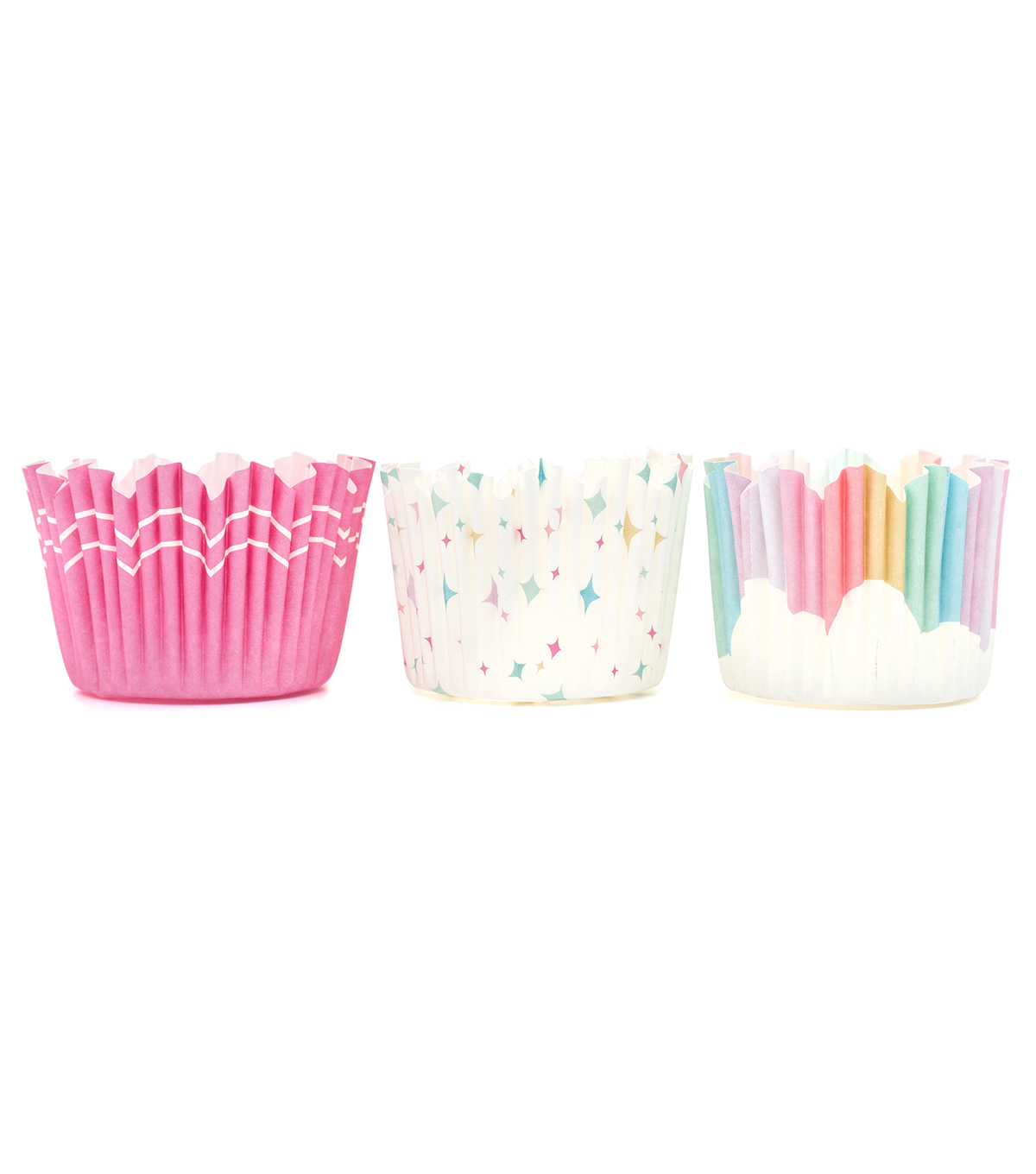 The Sweet Tooth Fairy Unicorn Party 36 pk Baking Cups-Rainbow