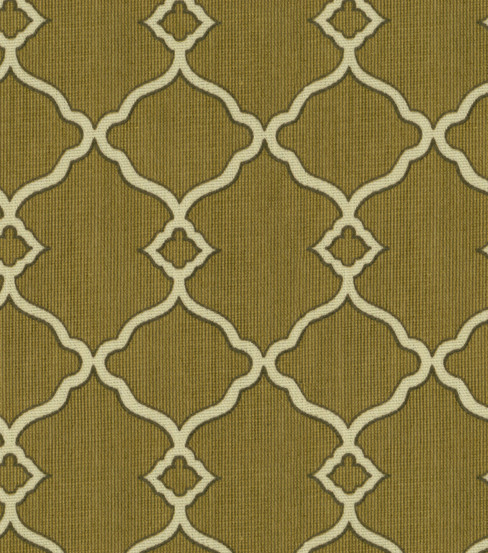 Waverly Sun N\u0027 Shade Outdoor Fabric 54\u0022-Chippendale Fretwork Mocha