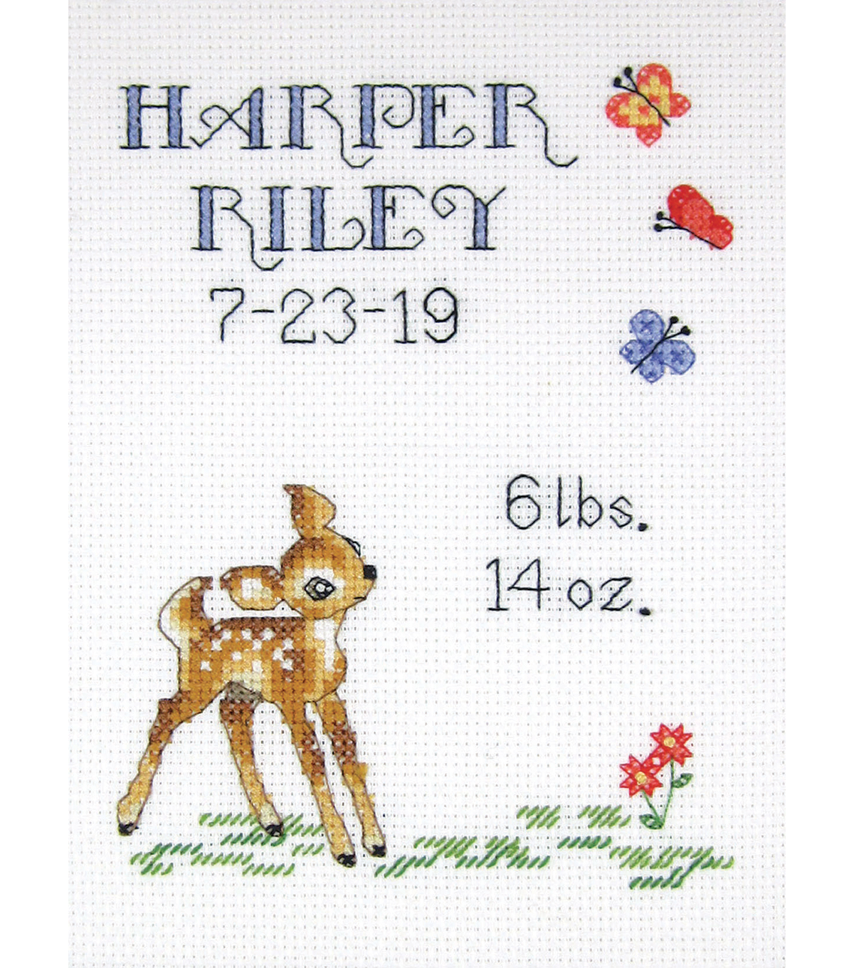Counted Cross Stitch Kit WONDERFUL NEEDLE WAITING FOR YOU HOME