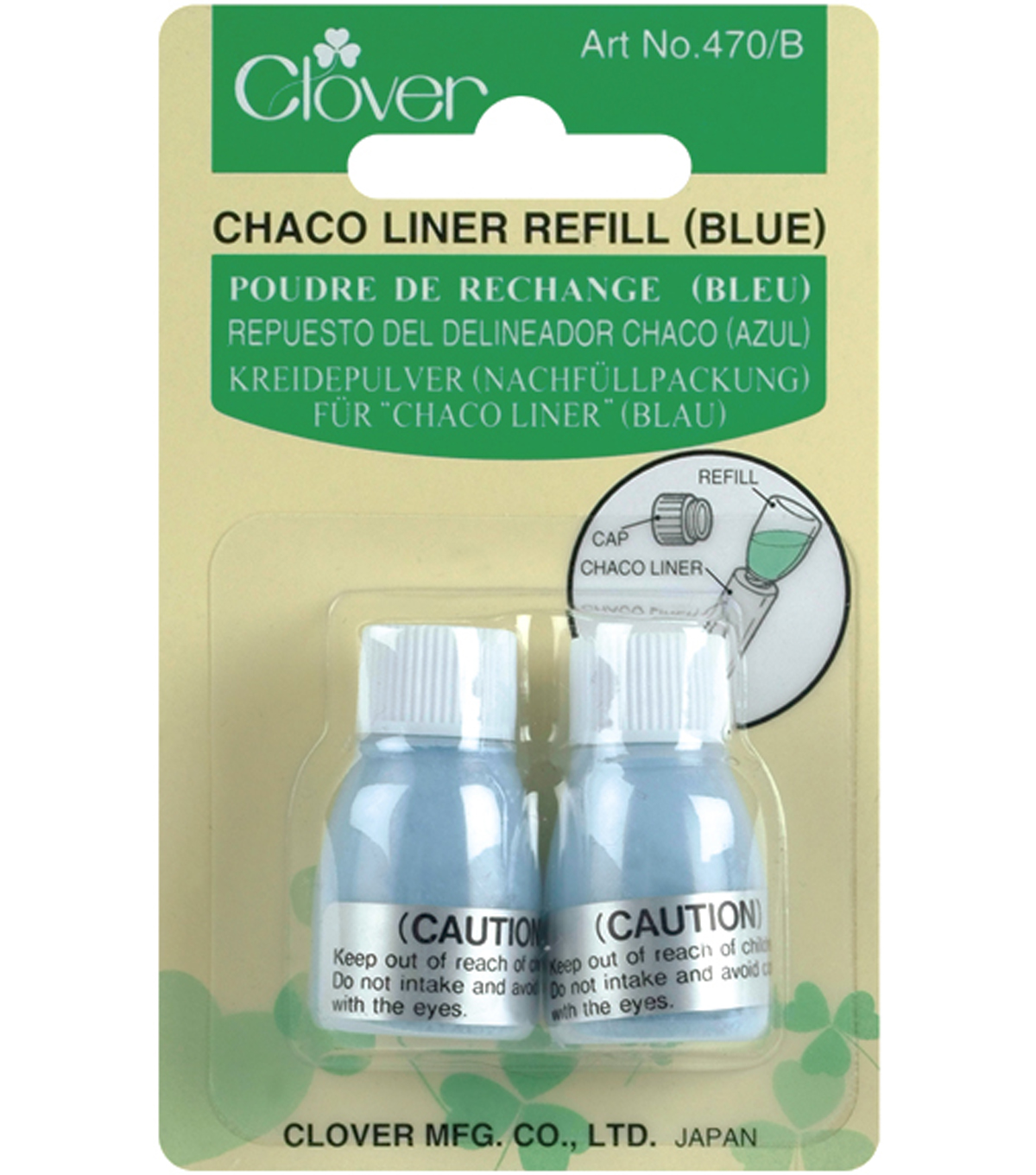 Clover Chaco-Liner Refill